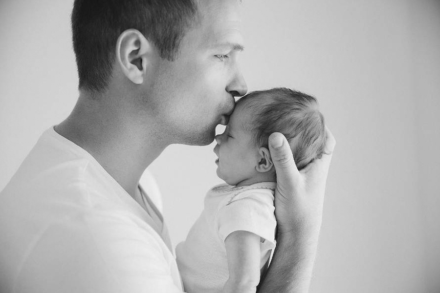 Father and son by Marija Heinecke