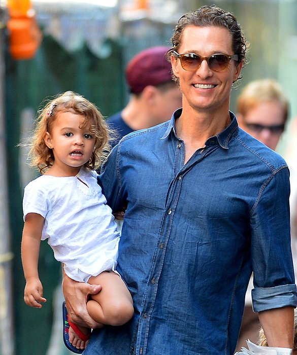 Matthew McConaughey and Vida Alves