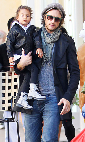 Gabriel Aubry with his and Halle Berry's daughter Nahla